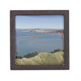 Golden Gate Bridge and San Francisco. 4 Jewelry Box