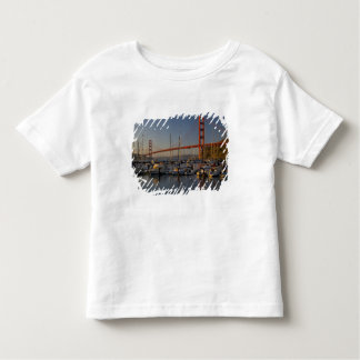 Golden Gate Bridge and San Francisco 4 Toddler T-shirt