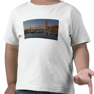 Golden Gate Bridge and San Francisco 4 T-shirt
