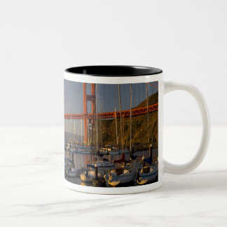 Golden Gate Bridge and San Francisco 4 Two-Tone Coffee Mug