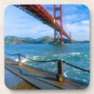 Golden Gate bridge and San Francisco Bay 2 Beverage Coaster