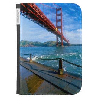 Golden Gate bridge and San Francisco Bay 2 Kindle Keyboard Cases