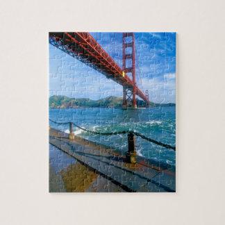 Golden Gate bridge and San Francisco Bay 2 Jigsaw Puzzle
