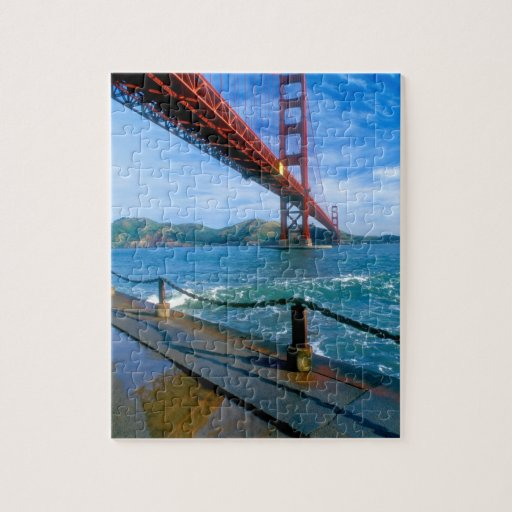 Golden Gate Bridge And San Francisco Bay 2 Jigsaw Puzzle