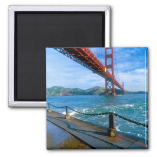Golden Gate bridge and San Francisco Bay 2 Magnet