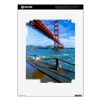 Golden Gate bridge and San Francisco Bay 2 Skin For iPad 3