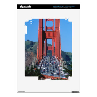 Golden Gate bridge and San Francisco Bay Decal For iPad 3