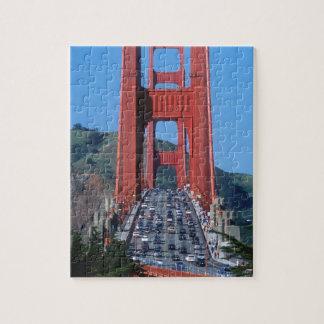 Golden Gate bridge and San Francisco Bay Jigsaw Puzzles