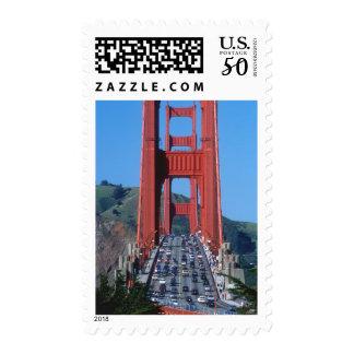 Golden Gate bridge and San Francisco Bay Postage