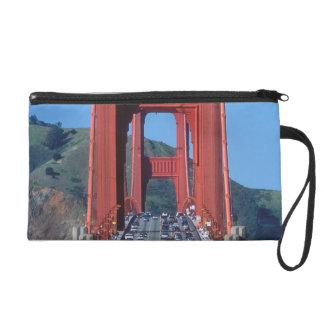 Golden Gate bridge and San Francisco Bay Wristlet Purse