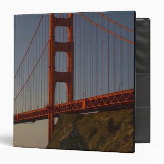 Golden Gate Bridge and San Francisco 3 Ring Binder