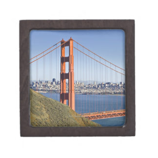 Golden Gate Bridge and San Francisco. Gift Box