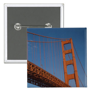 Golden Gate Bridge as viewed from Fort Point Pinback Button