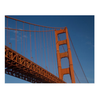 Golden Gate Bridge as viewed from Fort Point Postcard