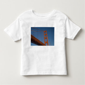 Golden Gate Bridge as viewed from Fort Point Toddler T-shirt