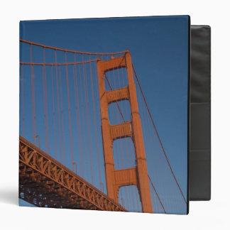 Golden Gate Bridge as viewed from Fort Point Vinyl Binder