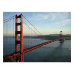 Golden Gate Bridge at day poster