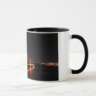 Golden Gate Bridge at Night Mug