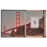Golden Gate Bridge at Sun Down Covers For iPad