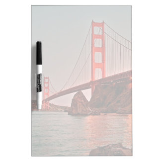 Golden Gate Bridge at Sun Down Dry-Erase Whiteboards