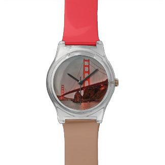 Golden Gate Bridge at Sun Down Wristwatch