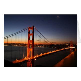 Golden Gate Bridge at Sunrise Greeting Cards