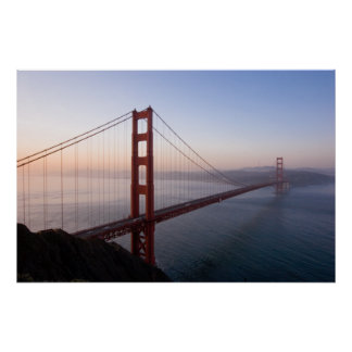 Golden Gate Bridge at Sunrise print/poster Poster