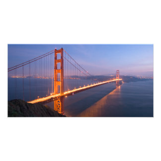 Golden Gate Bridge at Sunset Card