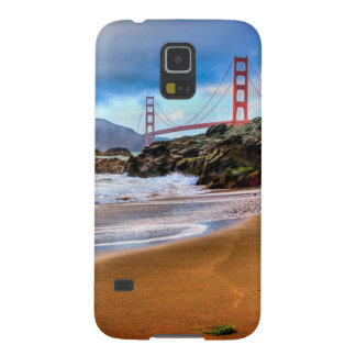 Golden Gate Bridge at sunset Case For Galaxy S5