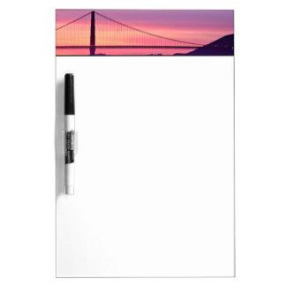 Golden Gate Bridge at Sunset Dry-Erase Whiteboards