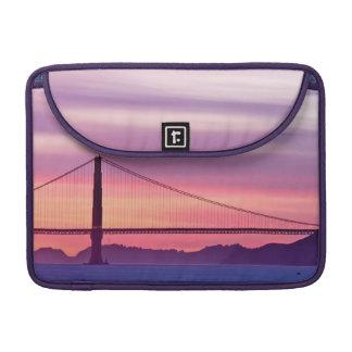 Golden Gate Bridge at Sunset Sleeve For MacBook Pro