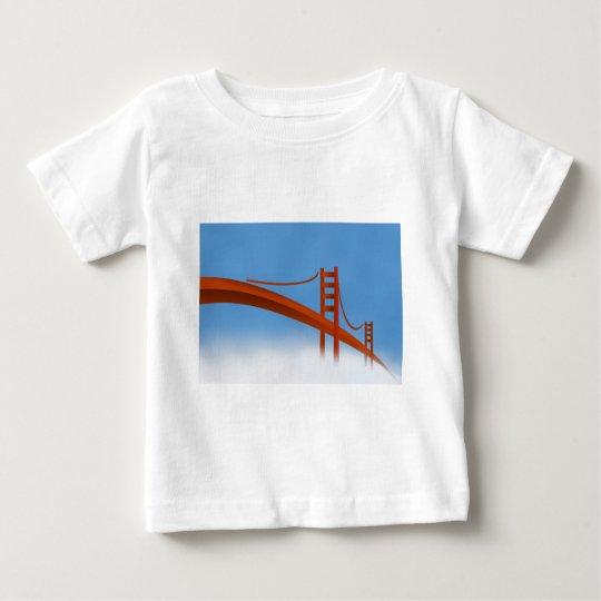 Golden Gate Bridge Baby T-Shirt