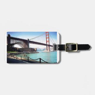 Golden Gate Bridge Bag Tag