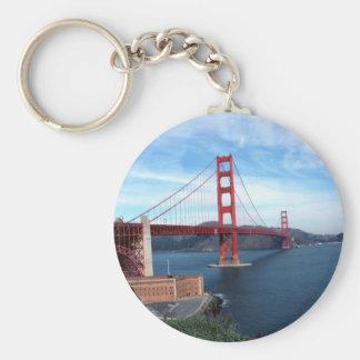 Golden Gate Bridge Basic Round Button Keychain
