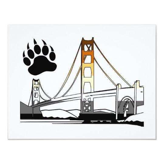 Golden Gate Bridge Bear Pride Card