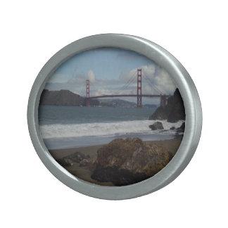 Golden Gate Bridge Belt Buckel Oval Belt Buckle