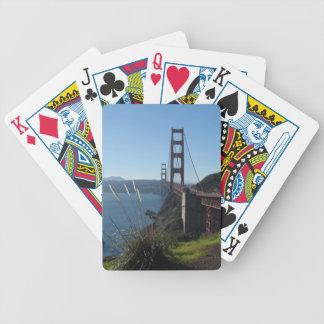 Golden Gate Bridge Bicycle Playing Cards