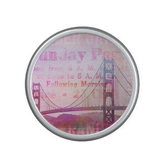 Golden Gate Bridge Bluetooth Speaker