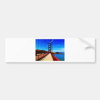Golden Gate Bridge Bumper Sticker