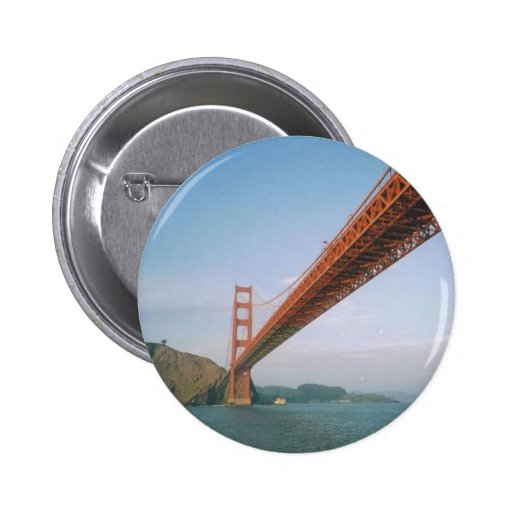 Golden Gate Bridge Button Zazzle