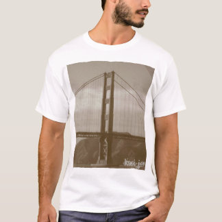"""golden gate bridge"" by kasi jo T-Shirt"