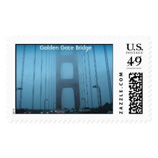 Golden Gate Bridge, CA Stamp