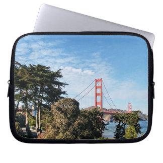 Golden Gate Bridge, California CA Computer Sleeve