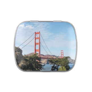 Golden Gate Bridge, California CA Jelly Belly Tins