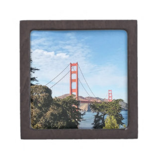 Golden Gate Bridge, California CA Jewelry Box