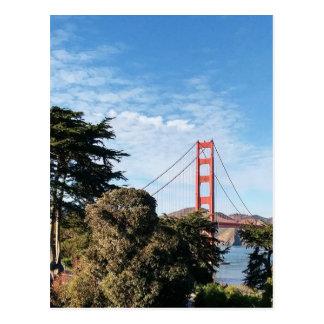 Golden Gate Bridge, California CA Postcard