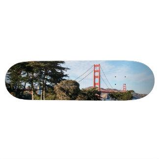 Golden Gate Bridge, California CA Skateboard Deck