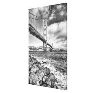 Golden Gate Bridge California Stretched Canvas Prints