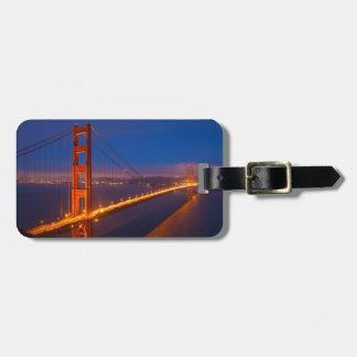 Golden Gate Bridge, California Luggage Tag