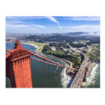 Golden Gate Bridge - California Memories Postcard